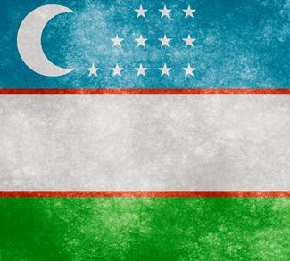 Uzbekflag, cc Nicolas Raymond, http://freestock.ca/flags_maps_g80-uzbekistan_grunge_flag_p1126.html, Flickr, modified,